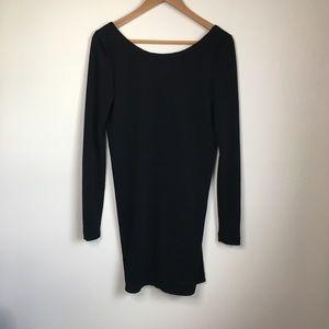 Zara Trafaluc Long Sleeve Low back dress